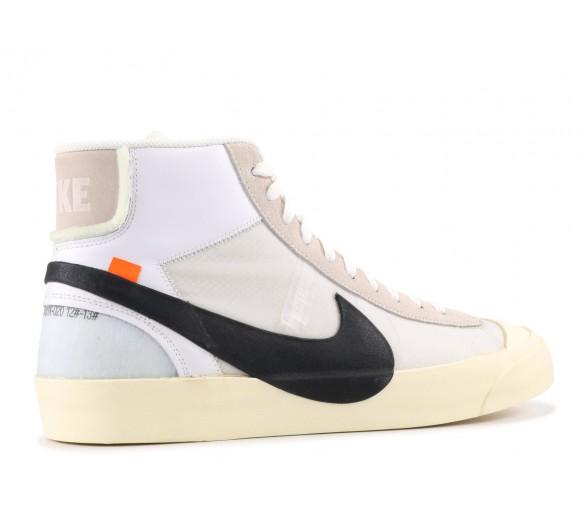 OffWhite x Nike Blazer Mid OG White