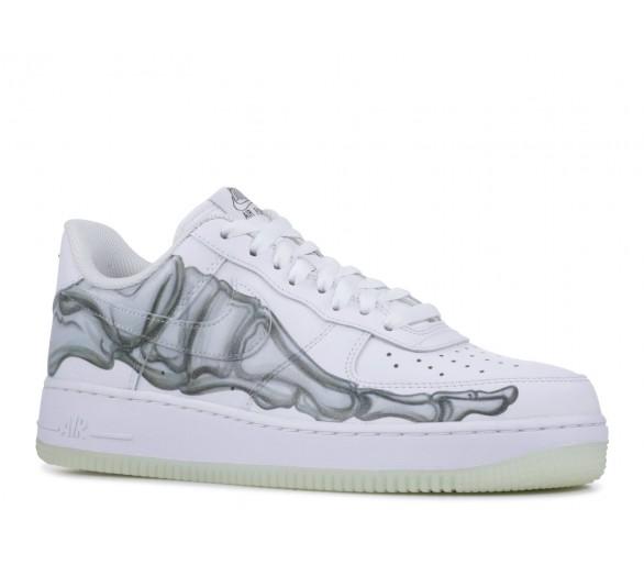 huge discount 0198e b433b Nike Air Force 1 Low Skeleton Halloween 2018