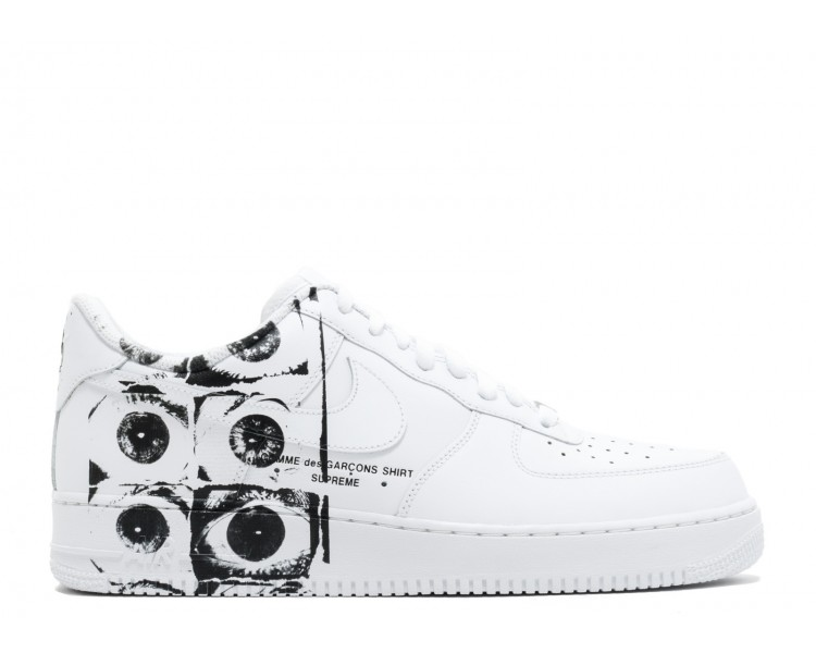 separation shoes 375e1 950bc Nike Air Force 1 Low x Supreme x Comme des Garcons