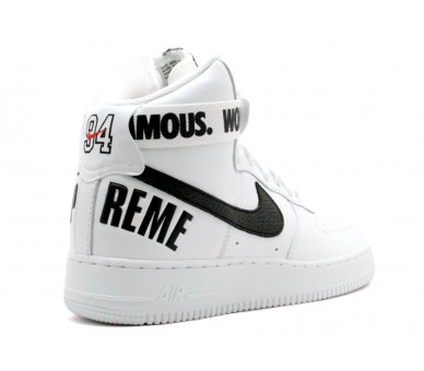 Air Force 1 high supreme world famous white