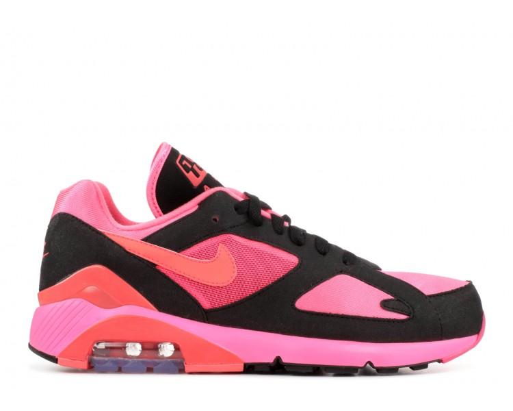 la moitié e485b 14e89 Nike Air Max 180 Comme Des Garcons Black