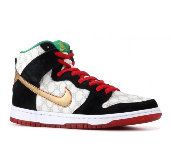 Nike SB Dunk High Black Sheep \