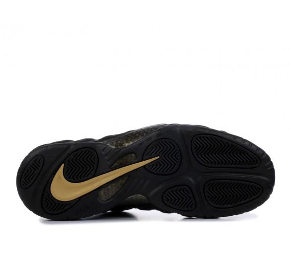 brand new 4e117 ce5cd Nike Air Foamposite Pro Black Metallic Gold