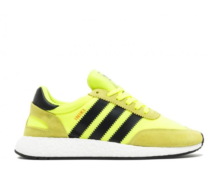 online retailer d2bea 041a9 Adidas Iniki Runner Solar Yellow