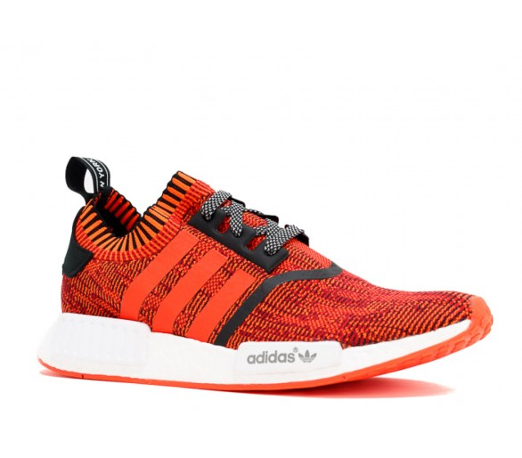 detailed look d12c3 c5986 Adidas NMD R1 PK NYC Red Apple