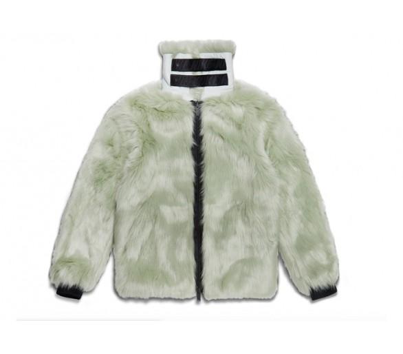 escolta Menagerry Renacimiento  Nike x Ambush Women's Reversible Faux Fur Coat Jade