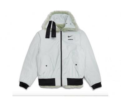 fur nike coat