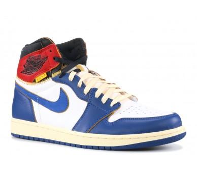 check out 91c1d 81065 Air Jordan 1 Retro High Union Los Angeles Blue Toe