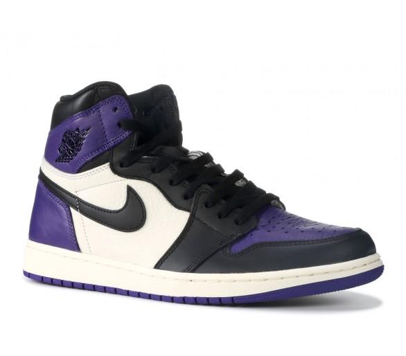 4e61ca465da Air Jordan 1 Retro High Court Purple