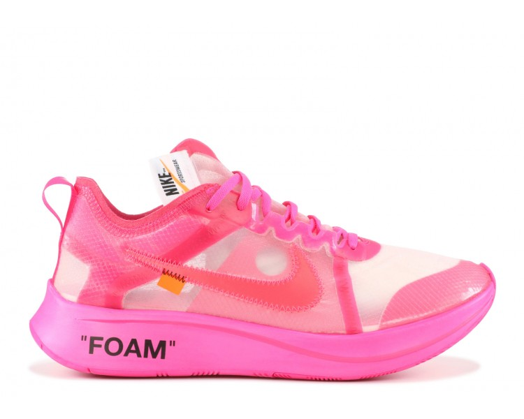 aad1566b89be6 Off-White x Nike Zoom Fly Pink
