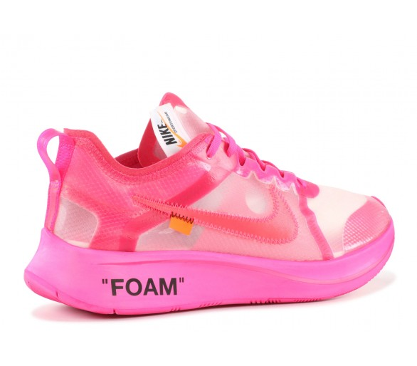 69b7bdb68f31a Off-White x Nike Zoom Fly Pink