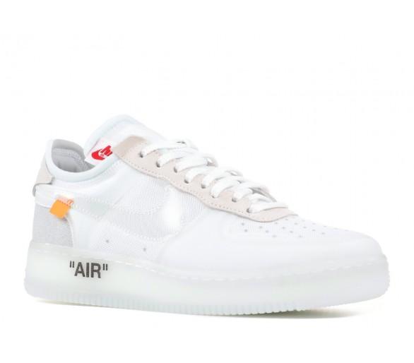 off white x nike air force 1 low white og