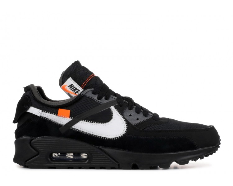 a18402a785 OffWhite x Nike Air Max 90 Black