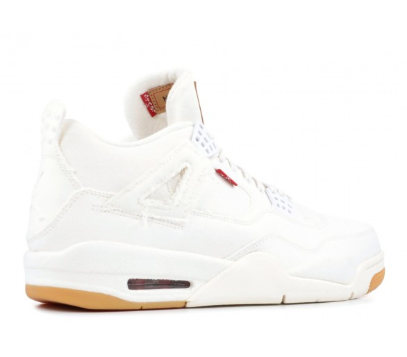 0fb26c4fce29 Air Jordan 4 Retro Levi s White